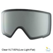 Anon M3 Goggle Replacement Lens 2018, Clear, medium