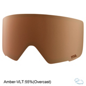 Anon M3 Goggle Replacement Lens 2018, Amber, medium