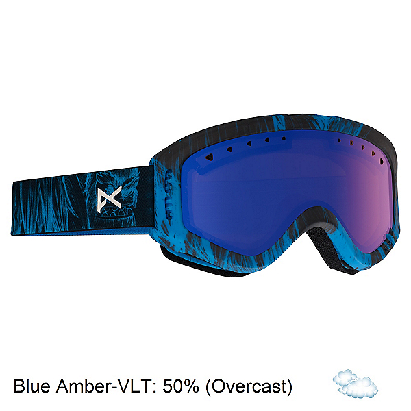Anon Tracker Kids Goggles 2018, Sulley-Blue Amber, 600