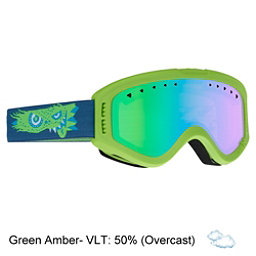 Anon Tracker Kids Goggles 2018, Gremlin-Green Amber, 256