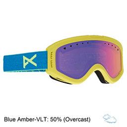 Anon Tracker Kids Goggles 2018, Blue-Blue Amber, 256