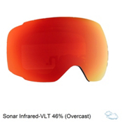 Anon M2 Sonar Goggle Replacement Lens 2018, Sonar Infrared, medium