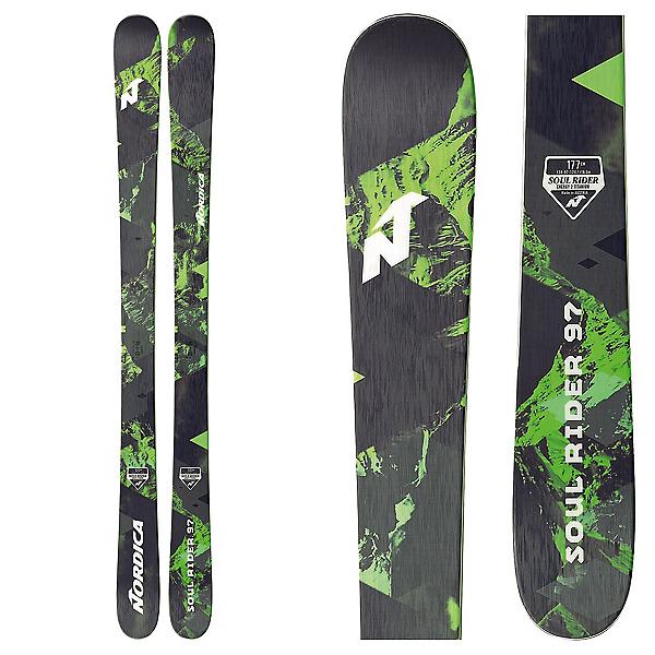 Nordica Soul Rider 97 Skis 2018, , 600