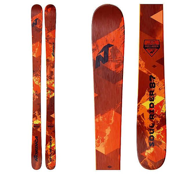 Nordica Soul Rider 87 Skis 2018, , 600
