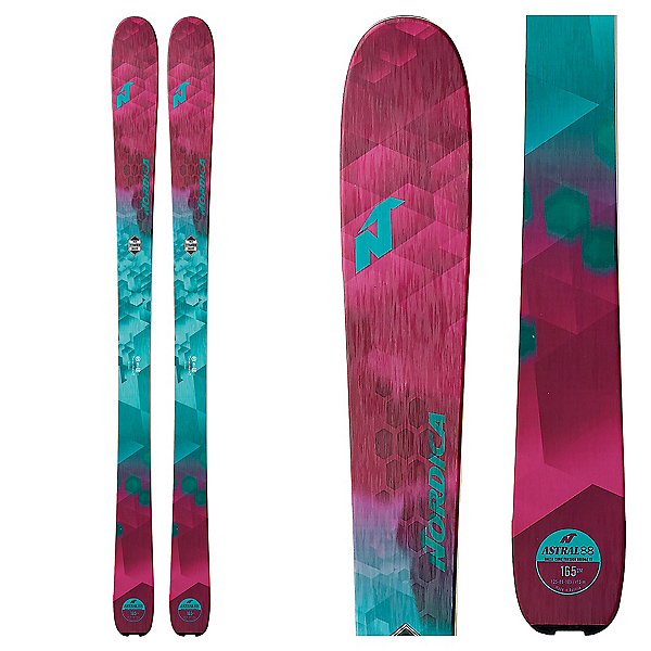 Nordica Astral 88 Womens Skis 2018, , 600