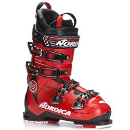 Nordica Speedmachine 130 Ski Boots 2018, Black-Red-Black, 256