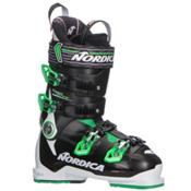 Nordica Speedmachine 120 Ski Boots 2018, White-Black-Green, medium