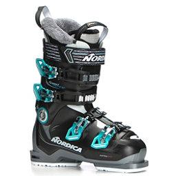 Nordica Speedmachine 75 W Womens Ski Boots 2018, Anthracite-Black-Blue, 256