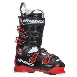 Nordica Sportmachine 130 Ski Boots 2018, Red-Black-Red, 256