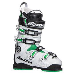 Nordica Sportmachine 120 Ski Boots 2018, Black-White-Green, 256