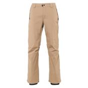 686 Standard Mens Snowboard Pants, Khaki, medium