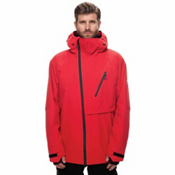 686 GLCR Hydra Thermagraph Mens Insulated Snowboard Jacket, Red Twill, medium