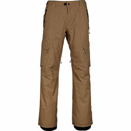 686 GLCR Quantum Thermagraph Mens Snowboard Pants, Khaki Ripstop, 256