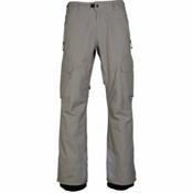 686 GLCR Quantum Thermagraph Mens Snowboard Pants, Light Grey Ripstop, medium