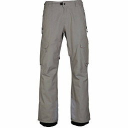 686 GLCR Quantum Thermagraph Mens Snowboard Pants, Light Grey Ripstop, 256
