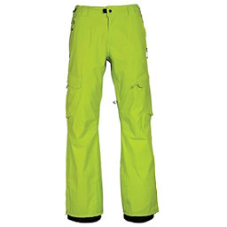 686 GLCR Quantum Thermagraph Mens Snowboard Pants, Lime Twill, 256
