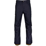 686 Raw Insulated Mens Snowboard Pants, Navy Denim, medium