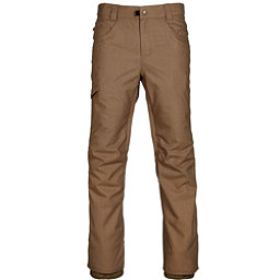 686 Raw Insulated Mens Snowboard Pants, Khaki Denim, 256