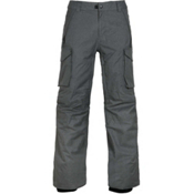 686 Infinity Insulated Mens Snowboard Pants, Charcoal Melange, medium