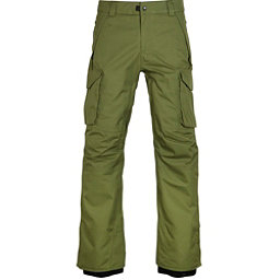 686 Infinity Insulated Cargo Mens Snowboard Pants, Fatigue, 256