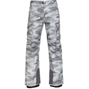 686 Infinity Insulated Mens Snowboard Pants, Grey Camo Print, medium