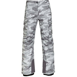 686 Infinity Insulated Cargo Mens Snowboard Pants, Grey Camo Print, 256