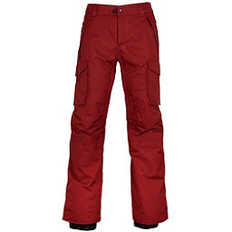 686 Infinity Insulated Cargo Mens Snowboard Pants, Rusty Red, 256