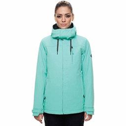 686 Eden Womens Insulated Snowboard Jacket, Aqua, 256