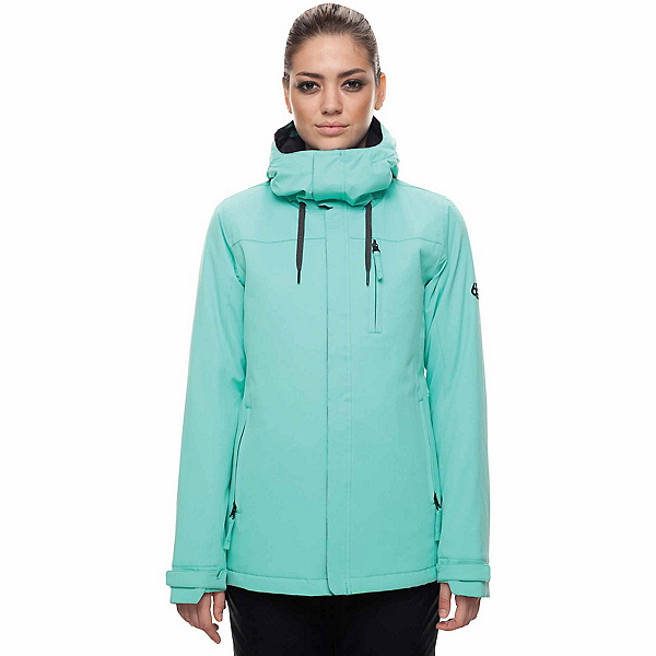 686 Eden Womens Insulated Snowboard Jacket, Aqua, 600