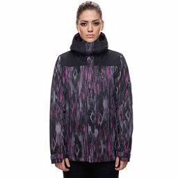 686 Eden Womens Insulated Snowboard Jacket, Diamond Ikat Print, 256