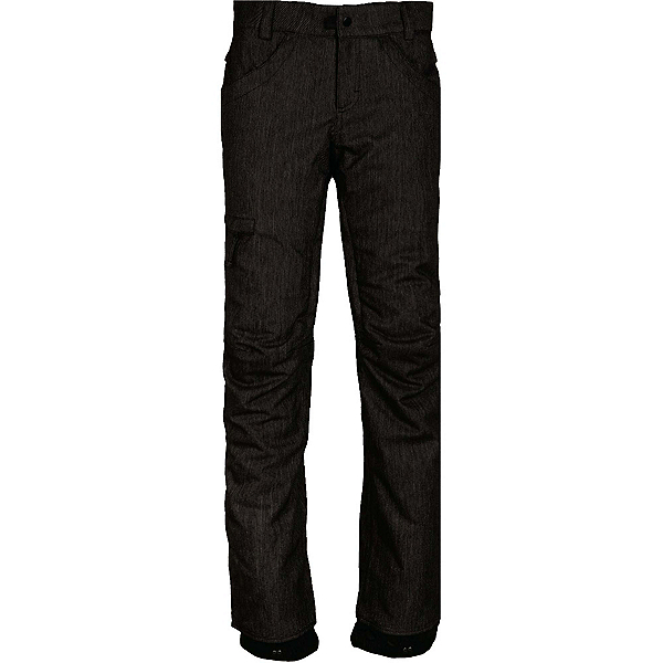 686 Patron Insulated Womens Snowboard Pants, Black Denim, 600