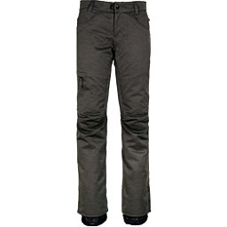 686 Patron Insulated Womens Snowboard Pants, Charcoal Slub, 256