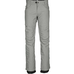 686 Patron Insulated Womens Snowboard Pants, Light Grey Denim, 256