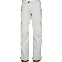 686 Mistress Insulated Cargo Womens Snowboard Pants, White, 256