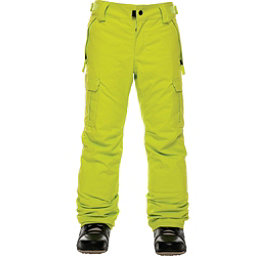 686 All Terrain Insulated Kids Snowboard Pants, Lime, 256