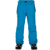 686 All Terrain Insulated Kids Snowboard Pants, Bluebird, medium