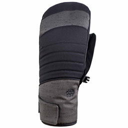 686 Majesty infiLOFT Womens Mittens, Black Denim, 256