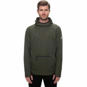 686 GLCR Exploration Tech Fleece Mens Hoodie, Fatigue, medium