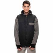 686 Bedwin Insulated Mens Jacket, Black, medium