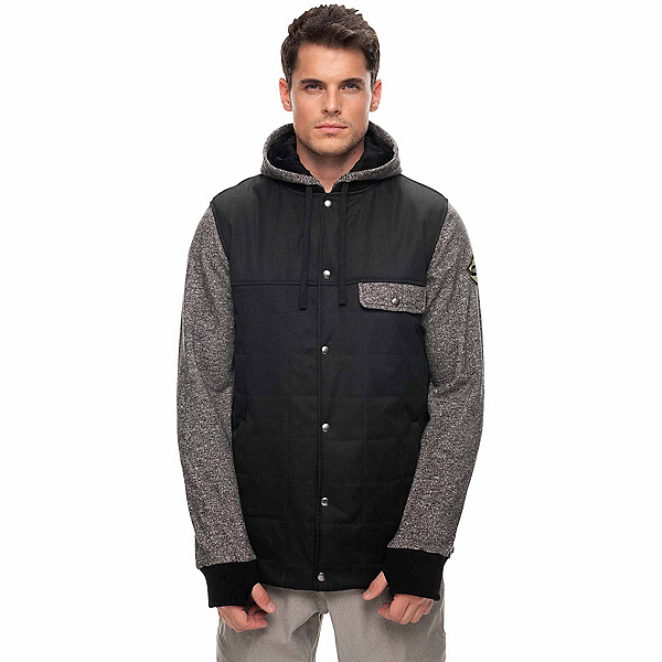 686 Bedwin Insulated Mens Jacket, Black, 600