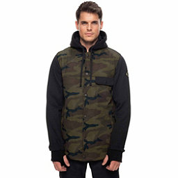 686 Bedwin Insulated Mens Jacket, Fatigue Camo Print, 256