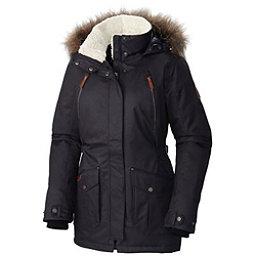 Columbia Barlow Pass 550 TurboDown Plus w/Faux Fur Womens Jacket, Black, 256