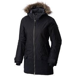 Columbia Catacomb Crest Parka w/Faux Fur Womens Jacket, Black, 256