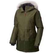Columbia Catacomb Crest Parka Plus Womens Jacket, Surplus Green, medium