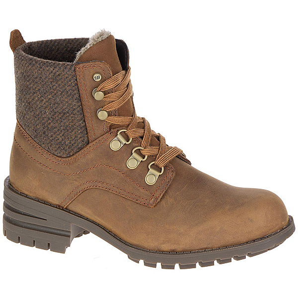 Caterpillar Taylor WP Womens Boots, Brown Sugar, 600