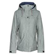Roxy Billie Womens Insulated Snowboard Jacket, Heritage Heather, medium
