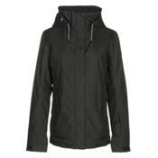 Roxy Billie Womens Insulated Snowboard Jacket, True Black, medium