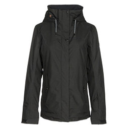 Roxy Billie Womens Insulated Snowboard Jacket, True Black, 256