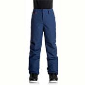 Quiksilver Estate Kids Snowboard Pants, Estate Blue, medium