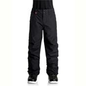 Quiksilver Estate Kids Snowboard Pants, Black, medium